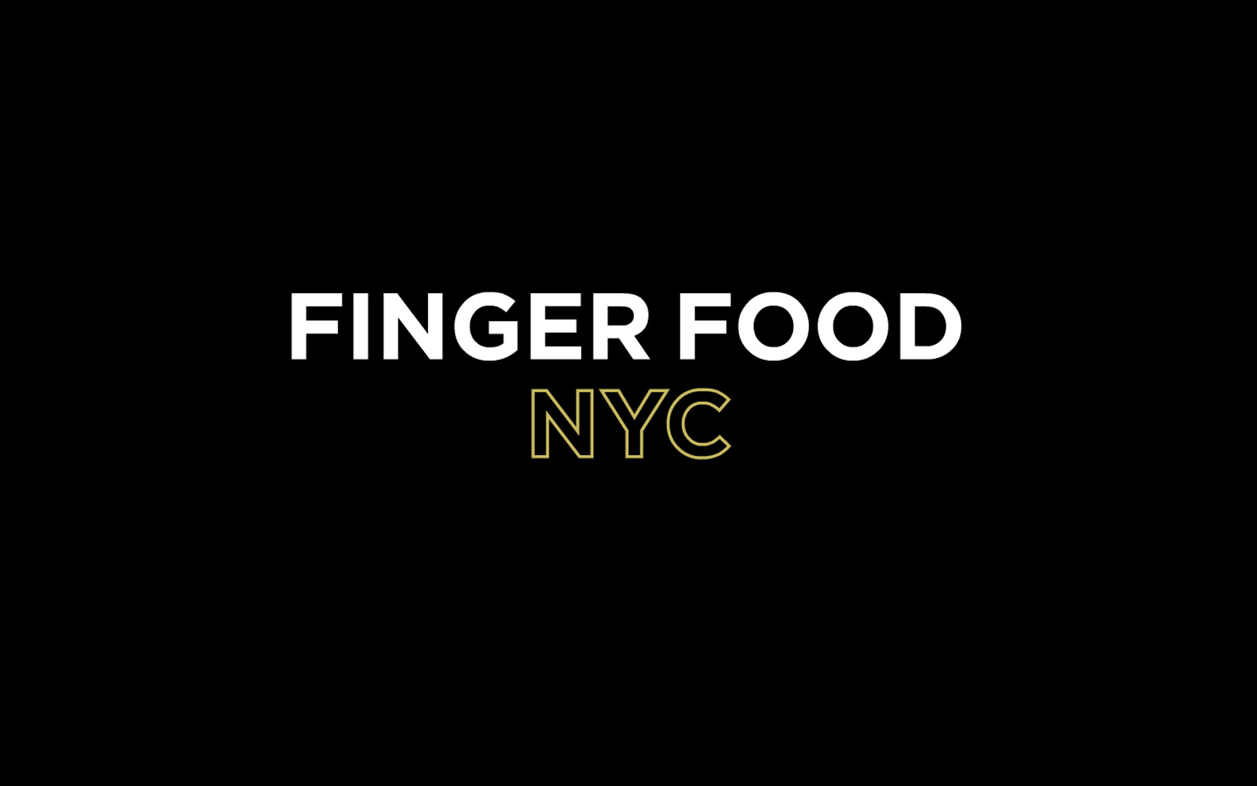 NYC Fingerfood